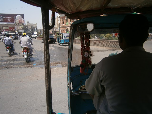 7 Riksha (local taxi)