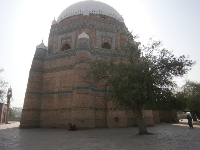 8 Multan - Mazar of Baha-ud-din Zakariya