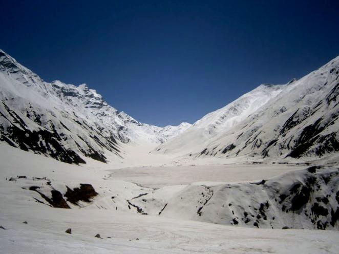 8. Saif ul Maluk lake - 3500 m