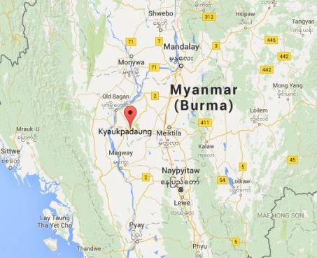 Map_Kyaukpadaung