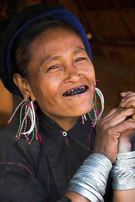 Eng tribal woman, Eastern Shan State, Burma ( Myanmar )