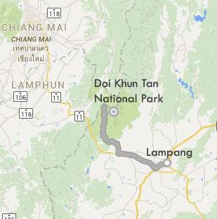 MAP_Doi_Khun_National Park