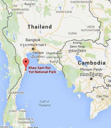 MAP_Khao Sam Roi Yot